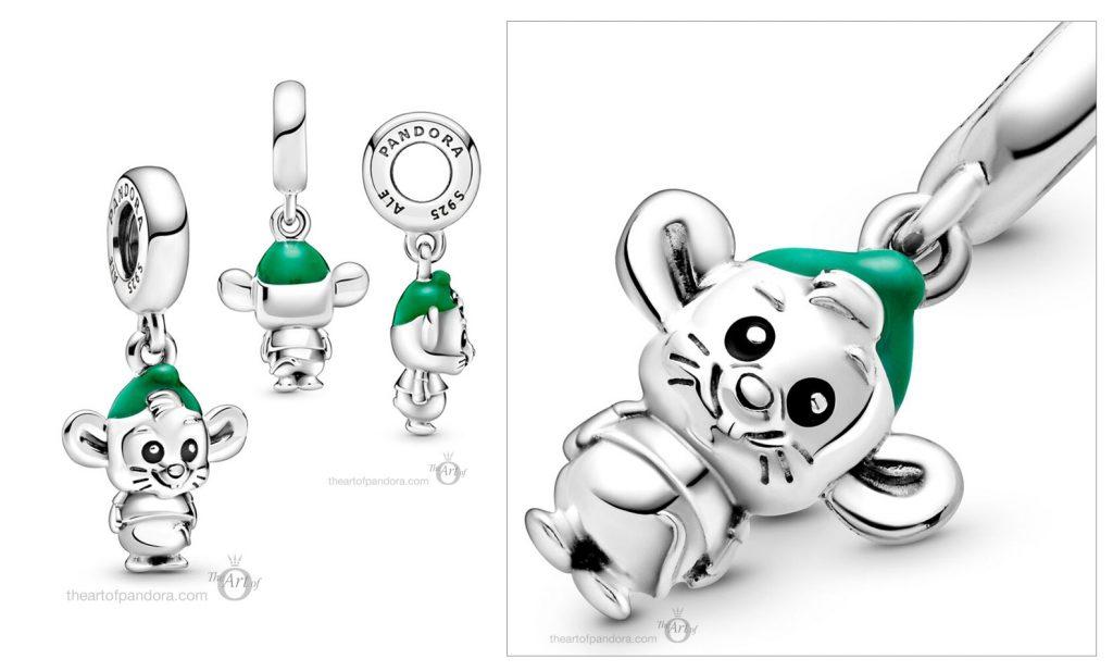 Disney x Pandora Gus Mouse Charm (798849C01)