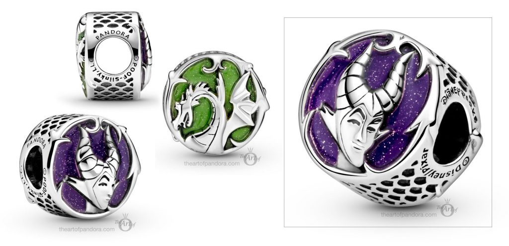 Pandora Disney Parks Maleficent Mistress of Evil Charm (799150C01)  pre winter Star Wars mysticism 2020 collection