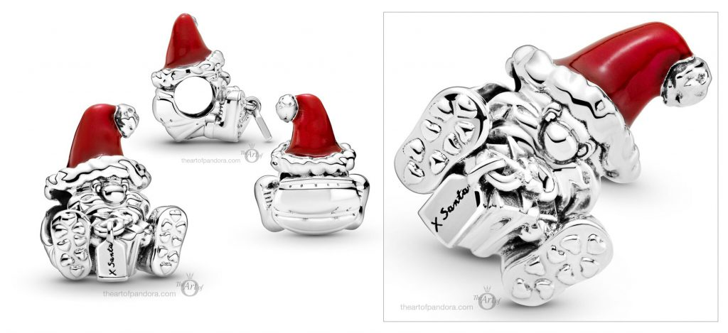 Pandora Seated Santa Claus & Present Charm (799213C01) Christmas winter 2020