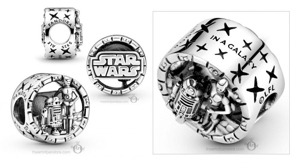 Star Wars x Pandora  C-3PO & R2-D2 Charm  (799245C00) Autumn 2020 new collection Winter