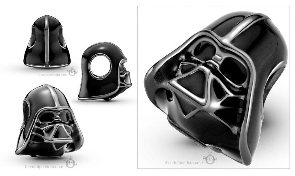Star Wars x Pandora  Darth Vader Charm (799256C01) Autumn 2020 new collection Winter