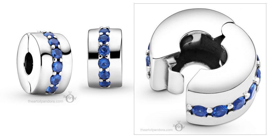 791972C01 Pandora Blue Shining Path Clip winter 2020