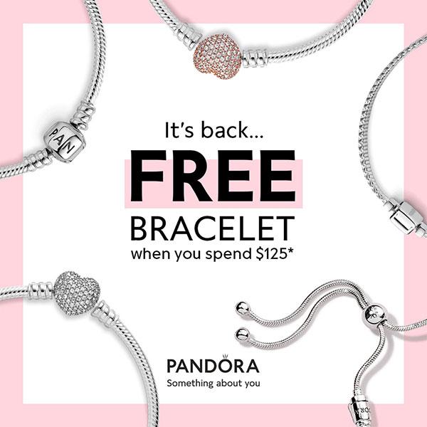 Pandora US Free Bracelet Promotion - The Art of Pandora | The #1 ...