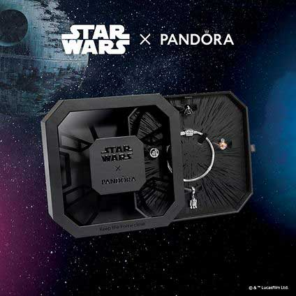 pandora Star Wars collectors box