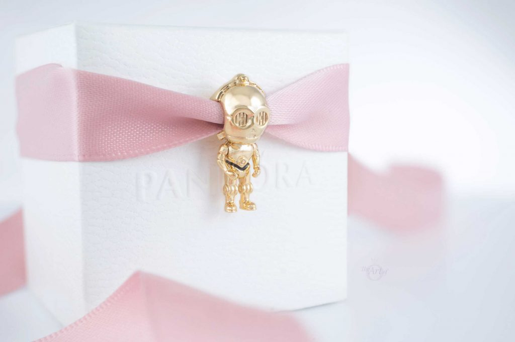 Star Wars x Pandora C-3PO Charm (769244C01) winter 2020 new collection Disney Lucas film shine valentines day 2021 uk estore official blog blogger
