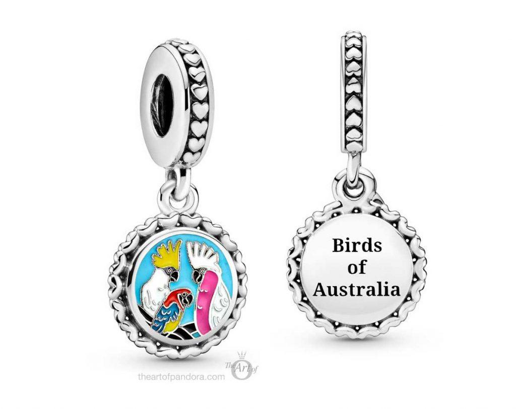 Australia Exclusive Pandora Birds of Australia Dangle Charm (792018C00_E028)