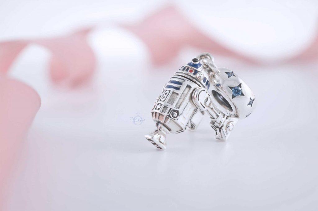 Star Wars x Pandora R2-D2 Dangle Charm 799248C01 winter 2020 Darth Vader c3po Leia baby Yoda the child Chewie chebacca