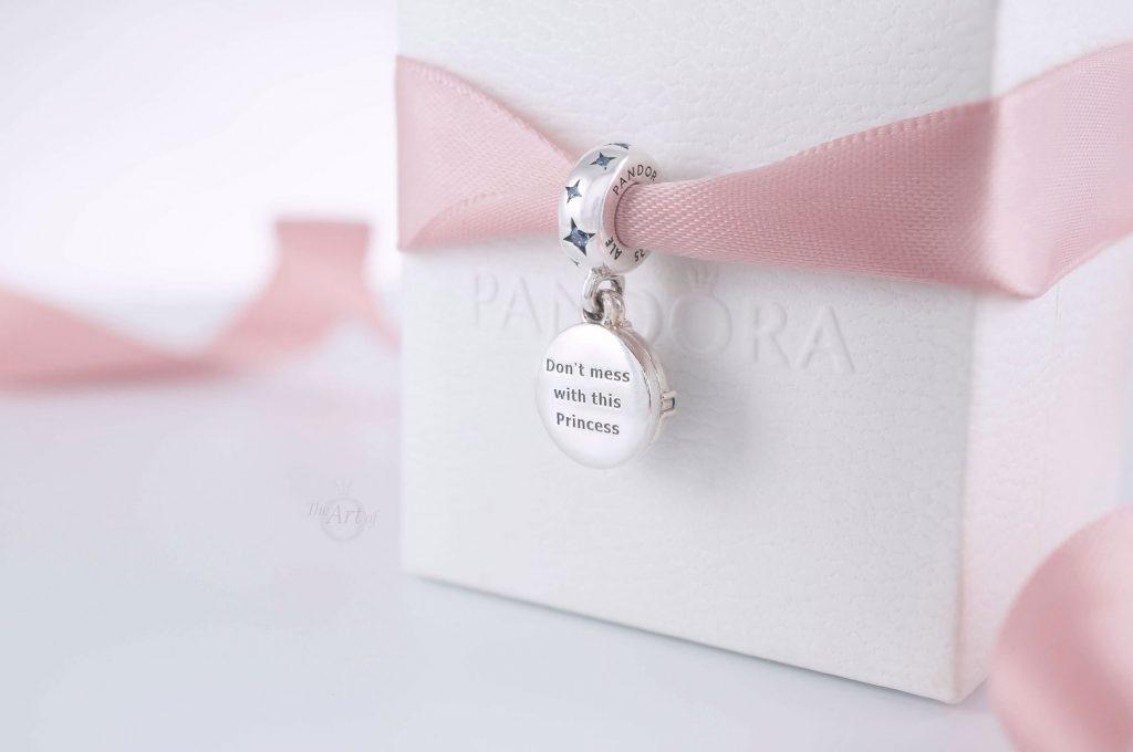 Star Wars x Pandora Princess Leia Double Dangle Charm 799251C01 winter 2020 new collection