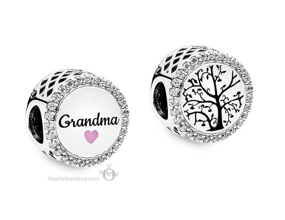 Pandora Grandma Charm ENG792016CZ_53