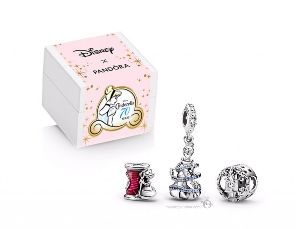 Disney x Pandora Cinderella Winter 2020 Gift Set