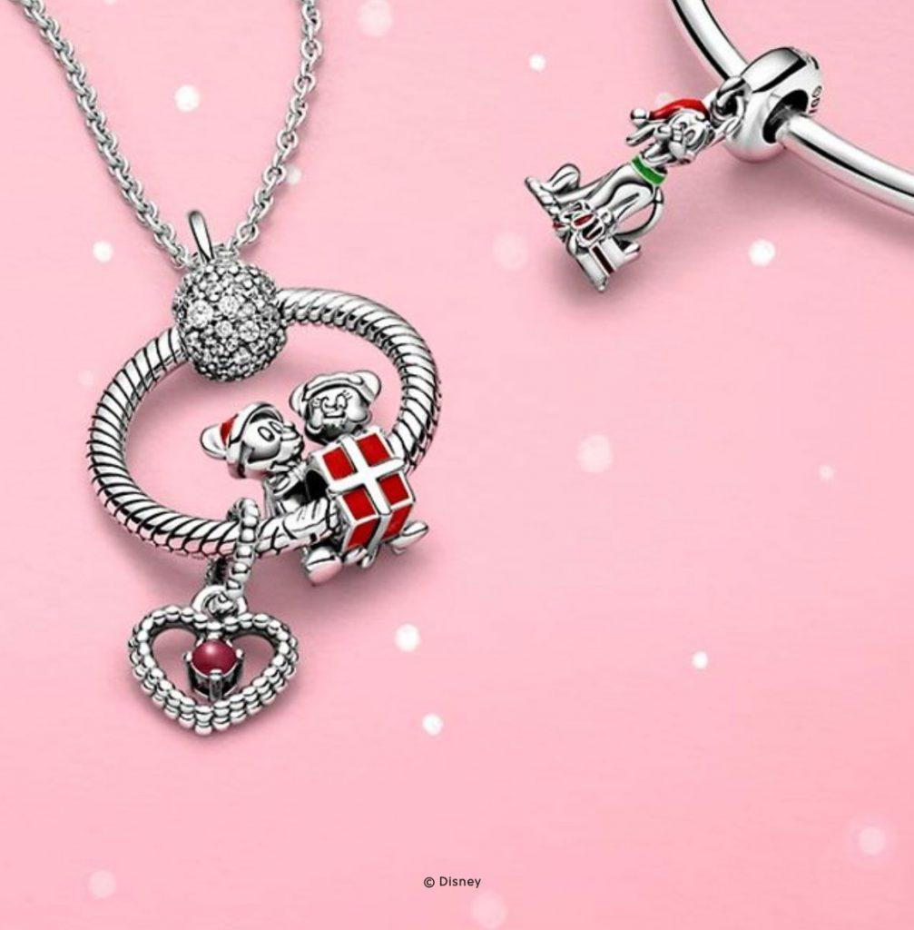 Disney x Pandora Mickey & Minnie Mouse Present Charm (799194C01)