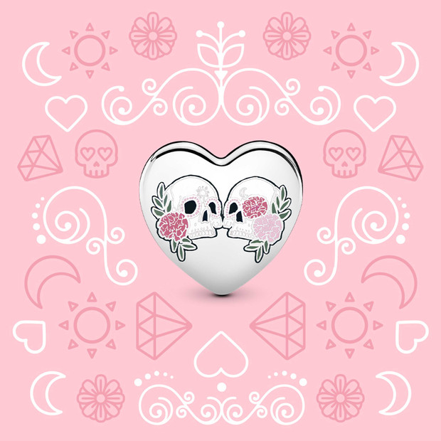 Pandora Day of the Dead Charm - The Art of Pandora | The #1 ...