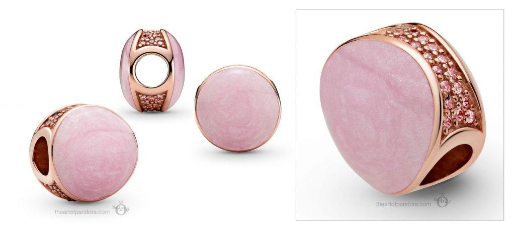 789306C01 Pandora Rose Pink Swirl Charm  valentines day 2021 Chinese new year cny