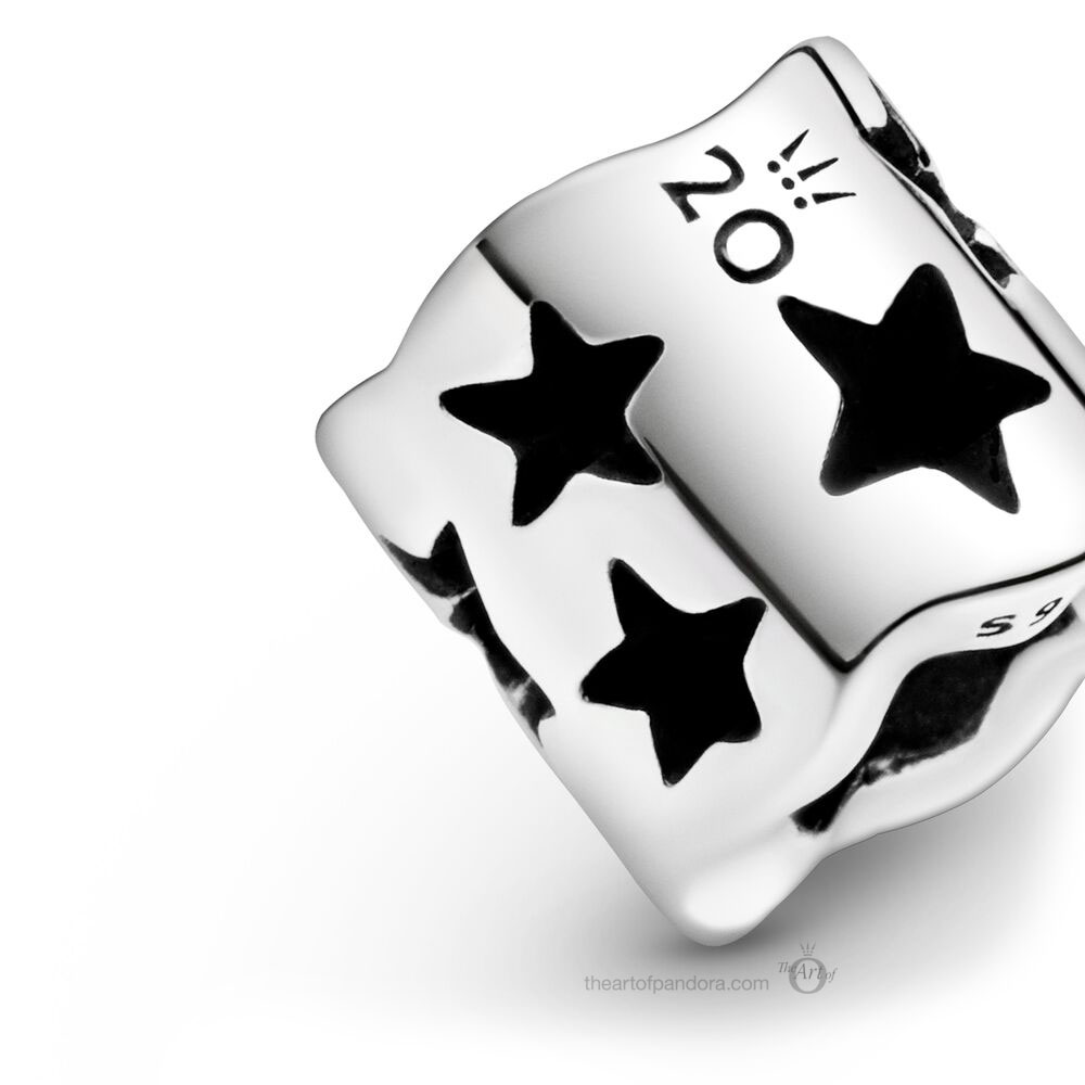 Limited Edition Pandora 20th Anniversary Stars Charm (799119C00)