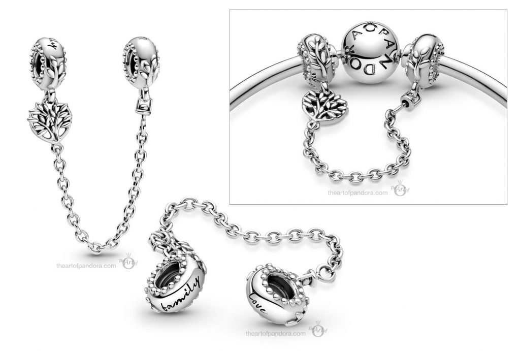 Pandora Heart Family Tree Safety Chain (799293C00) valentines day 2021 Chinese new year cny