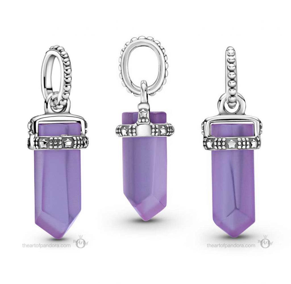 Pandora Colours Purple Amulet Pendant (399185C01)