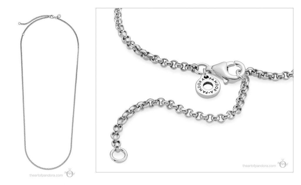 399260C00 Pandora Rolo Chain Necklace valentines day 2021 Chinese new year cny