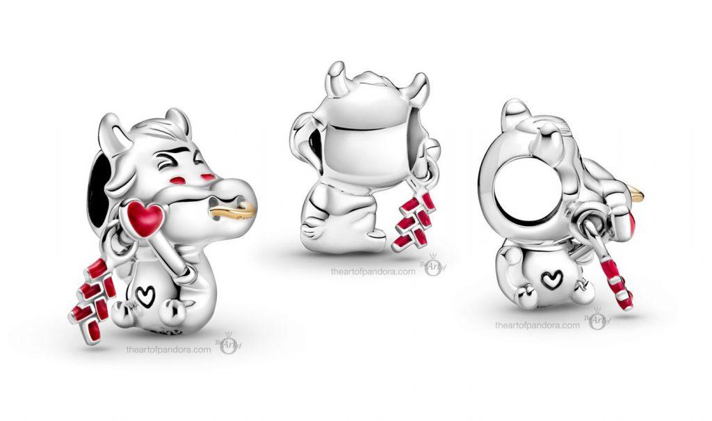 Pandora Chinese New Year Ox Charm (799268C01)  valentines day 2021 Chinese new year cny