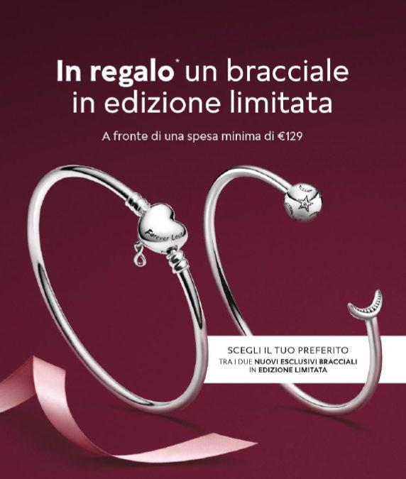 Pandora Italy Free Bracelet Promotion