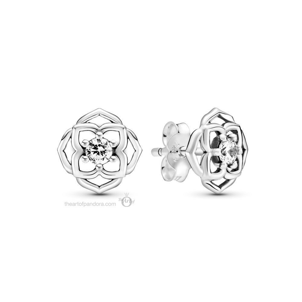 Pandora Timeless Rose Petals Stud Earrings (299371C01) Mother's Day spring occasions 2021