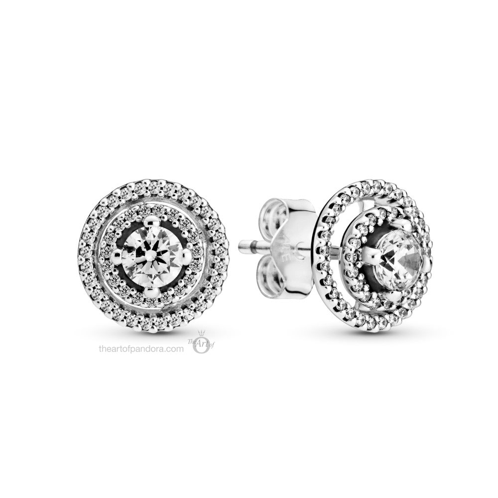 Pandora Sparkling Halo Stud Earrings (299411C01) Mother's Day spring occasions 2021