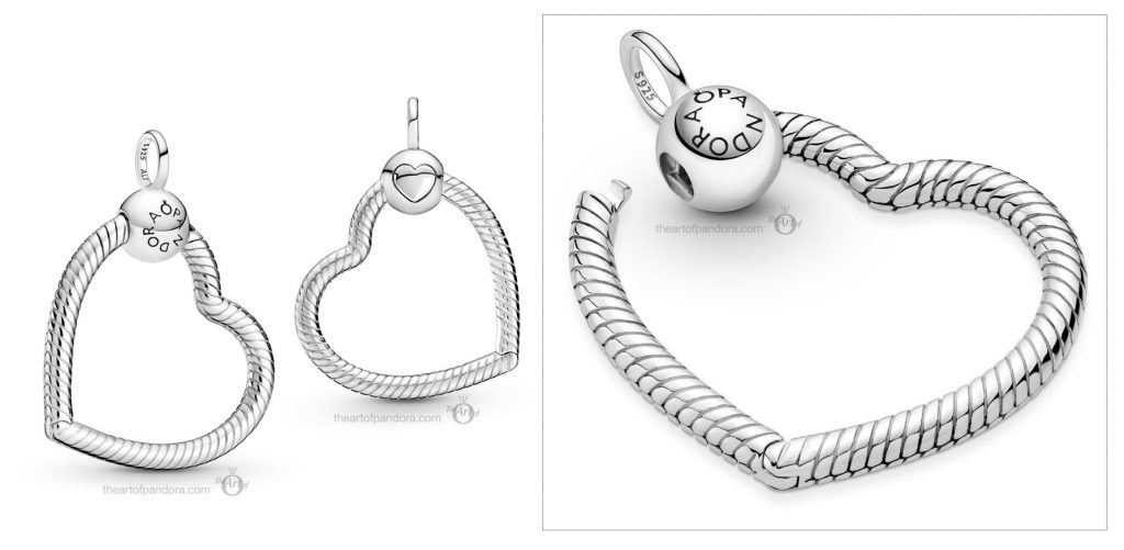 Pandora Moments Heart O Pendant (399384C00) Mother's Day spring occasions 2021