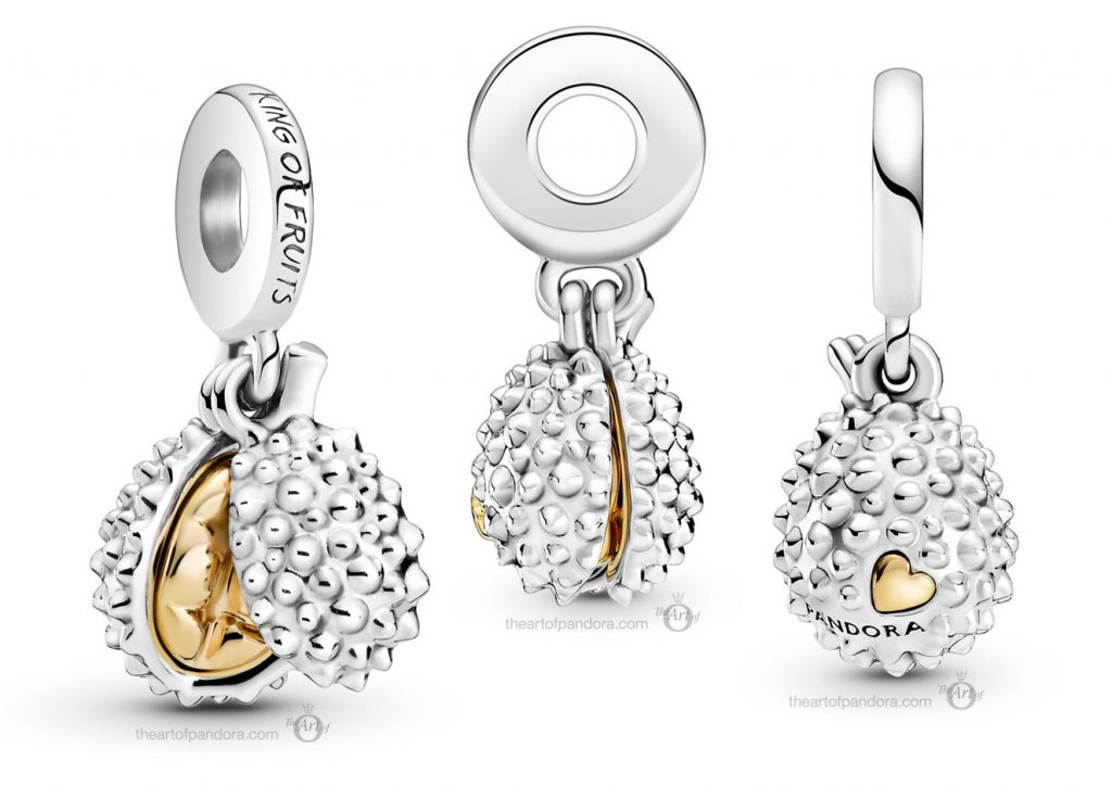 Pandora Passions Durian King of Fruits Dangle Charm (769391C00) Mother's Day spring occasions 2021