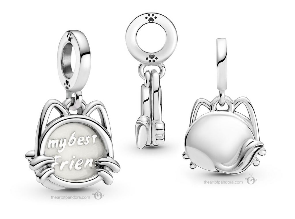 Pandora My Pet Cat Dangle Charm (799329C01)  Mother's Day spring occasions 2021