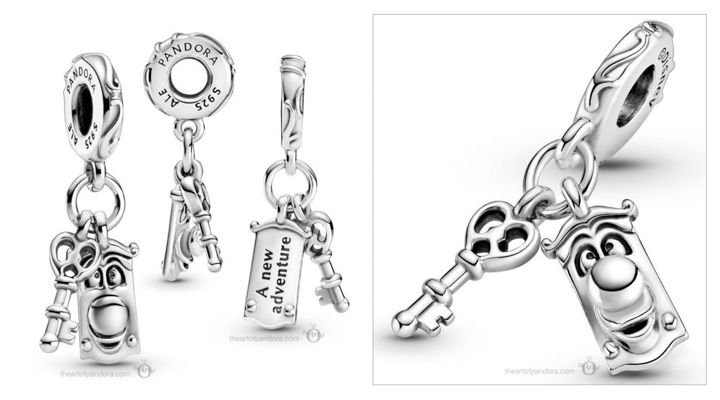 Disney x Pandora Alice in Wonderland Key Door Knob Dangle Charm (799344C00) Mother's Day spring occasions 2021