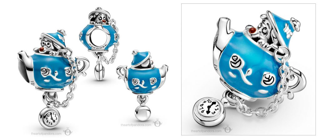 Disney x Pandora Alice in Wonderland Birthday Party Teapot Charm (799345C01) Mother's Day spring occasions 2021