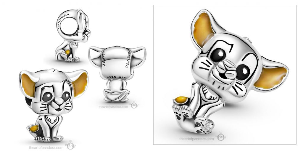 Disney x Pandora Simba Baby Charm (799398C01) Mother's Day spring occasions 2021