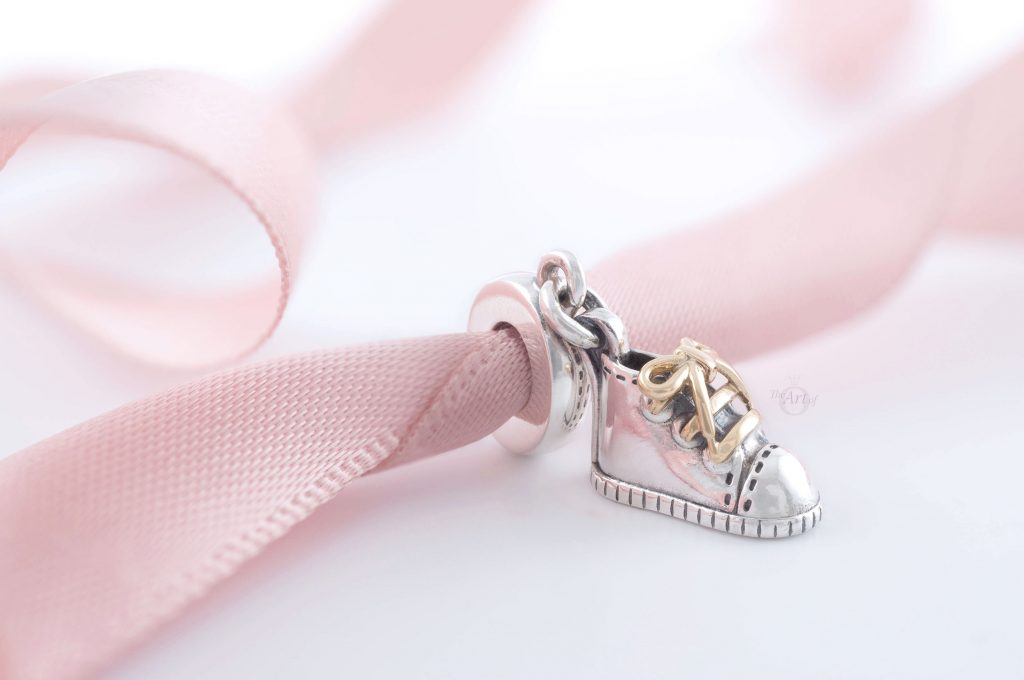 Pandora Baby Shoe Dangle Charm (799075C00) pandora autumn 2020 two tone new review blog blogger promotion 3 for 2 gwp pandora uk estore spring mothers day premothers day 2021