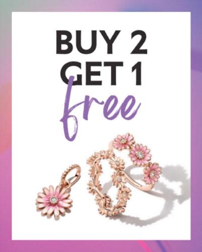 Pandora US Buy 2 Get 1 Free Promo - The Art of Pandora | The #1 ...