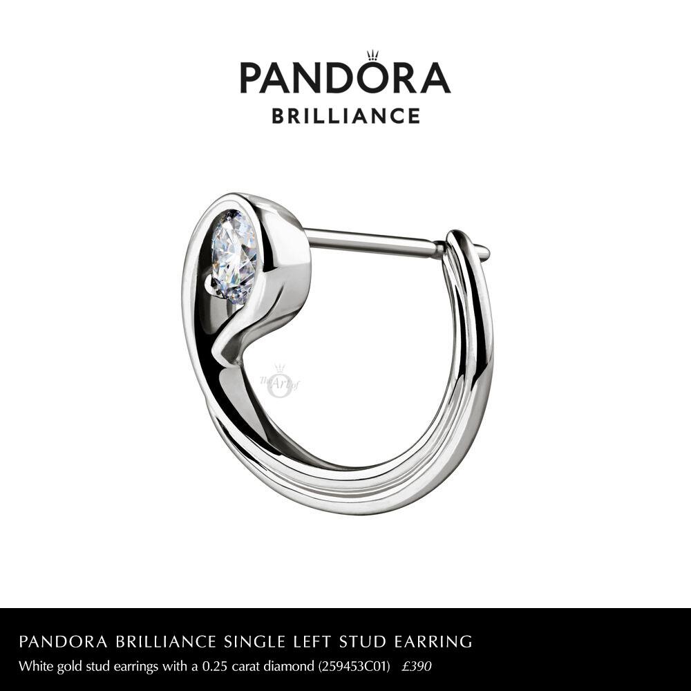 259453C01-single-left-pandora-brilliance-0.25-carat-stud-earring
