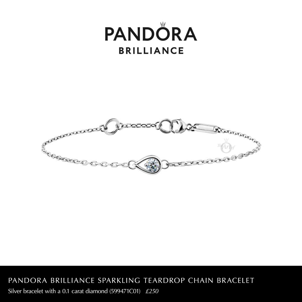 599471C01-pandora-brilliance-0.1-carat-sparkling-teardrop-chain-bracelet