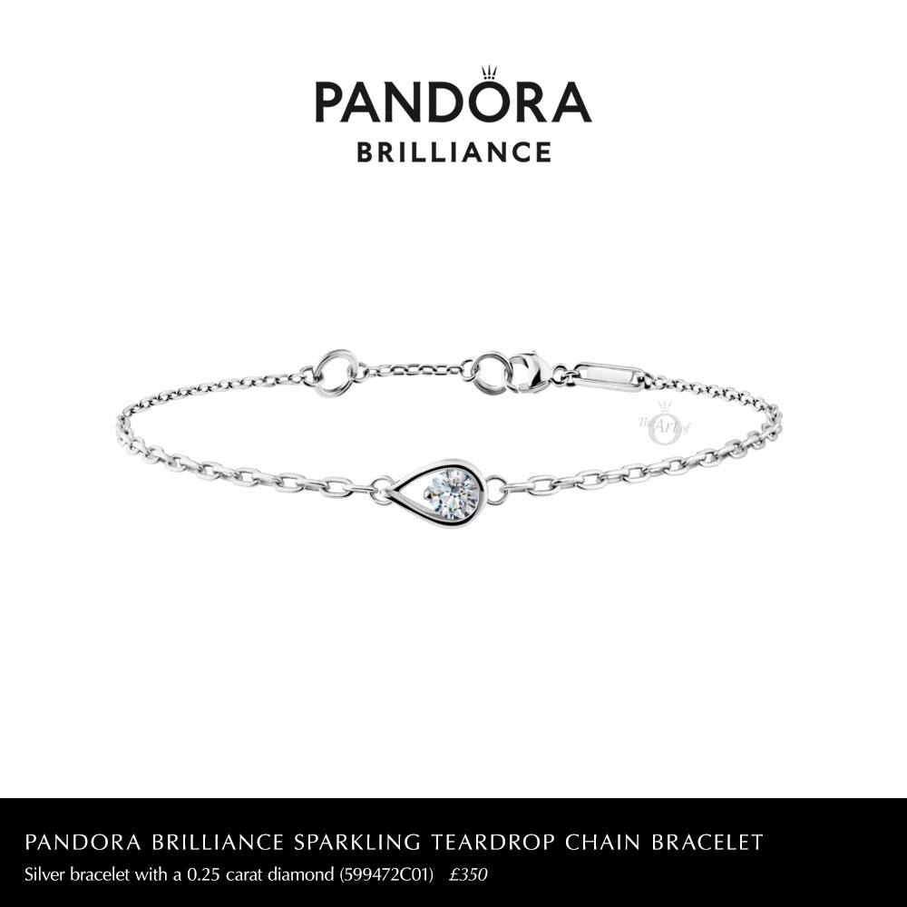 599472C01-pandora-brilliance-0.25-carat-sparkling-teardrop-chain-bracelet