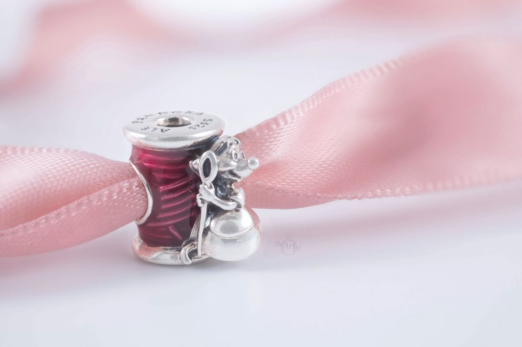 Disney x Pandora Cinderella Suzy Mouse Needle & Thread Charm 799200C01 Winter 2020 Spring 2021 mothers day summer new collection gift review blog blogger
