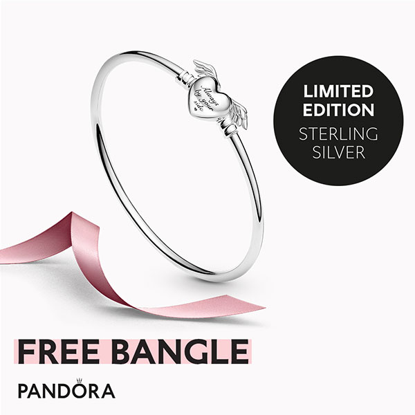 Pandora Mother's Day Free Bangle Promotion - The Art of Pandora ...
