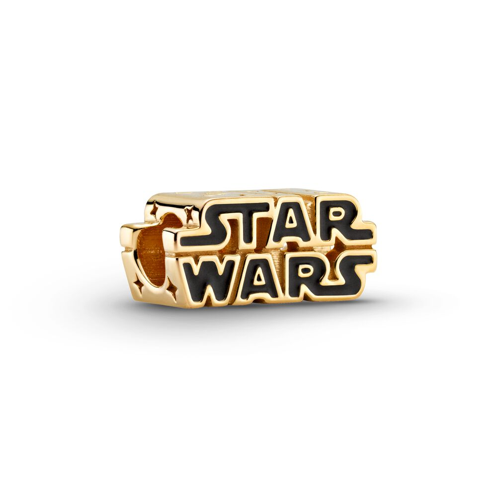 Star Wars x Pandora Shining 3D Logo Charm (769247C01) may 4th may the forth be with you new collection pandora winter 2020 summer 2021 Disney brilliance may the force with you