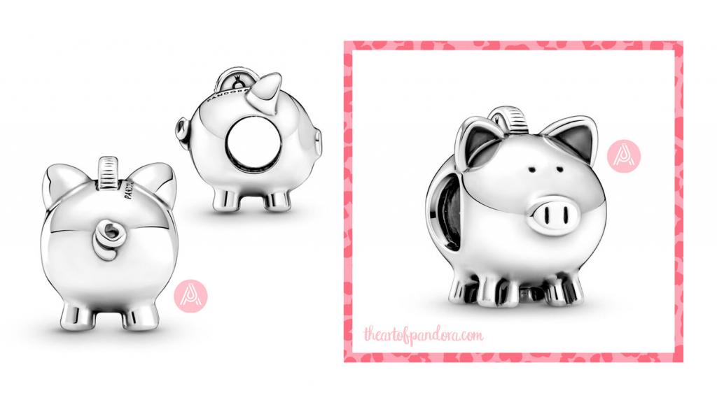 Pandora Cute Piggy Bank Charm (799549C00) autumn 2021