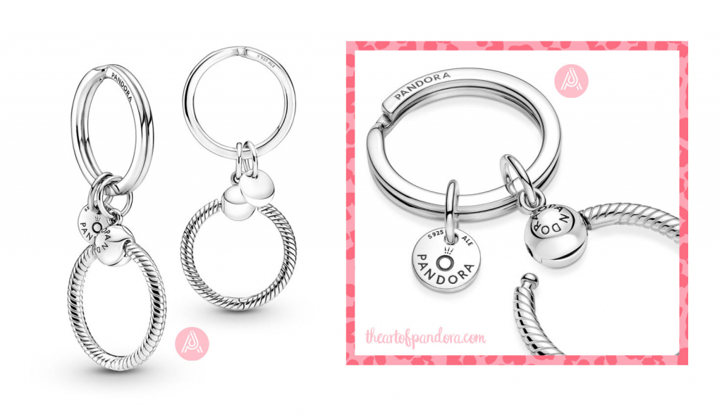 399566C00 Pandora Moments Charm Key Ring autumn 2021