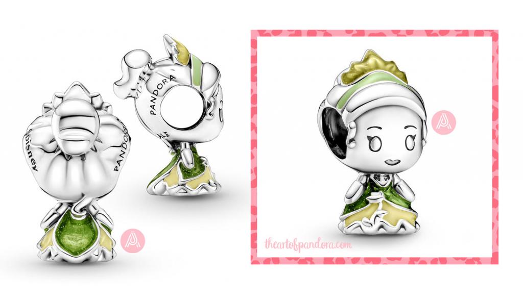 799510C01 Disney Pandora Princess Tiana And The Frog Charm autumn 2021