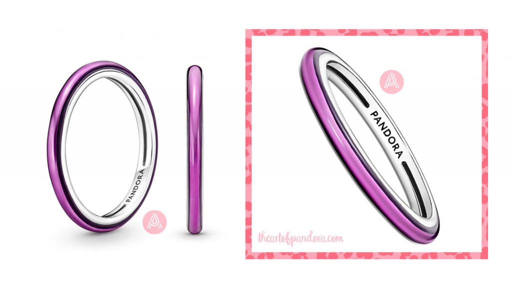 199655C01 pandora me shocking purple ring
