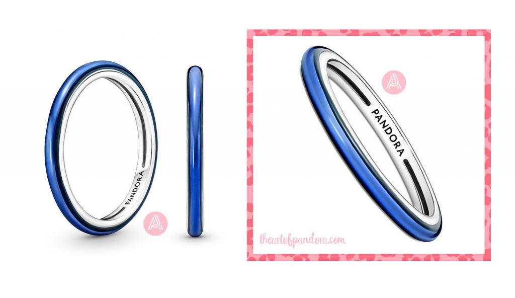 199655C02 pandora me electric blue ring
