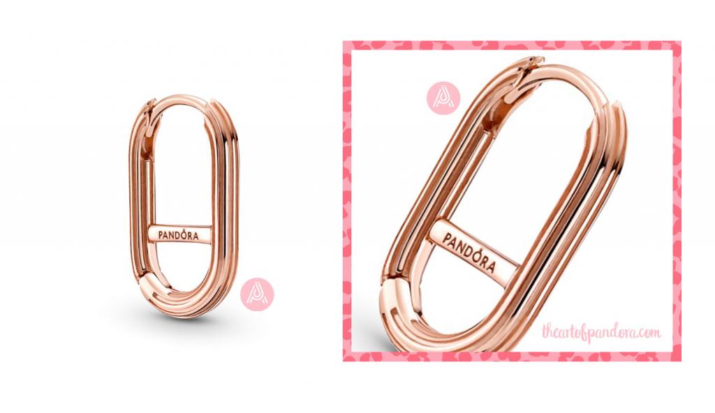 Pandora Me Rose Link Earring (289657C00)