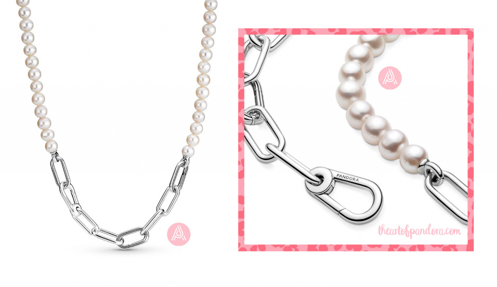 Pandora Me Freshwater Cultured Pearl Necklace  (399658C01)