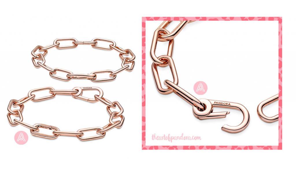 Pandora Me Rose Link Chain Bracelet  (589588C00)