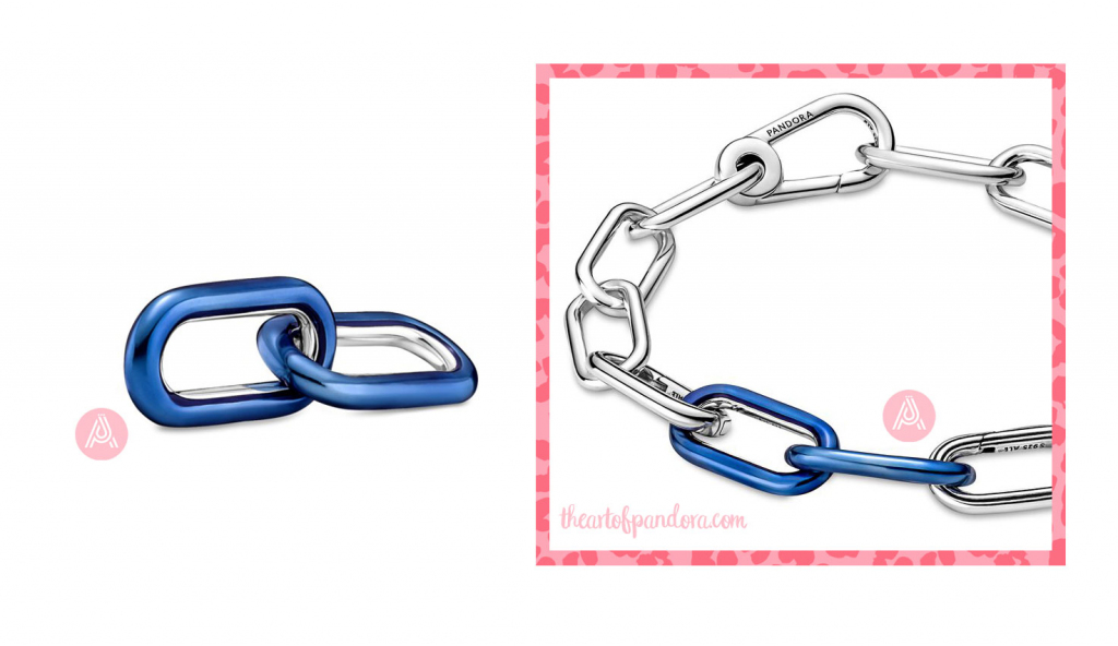 799663C01 Pandora Me Styling Electric Blue Double Link