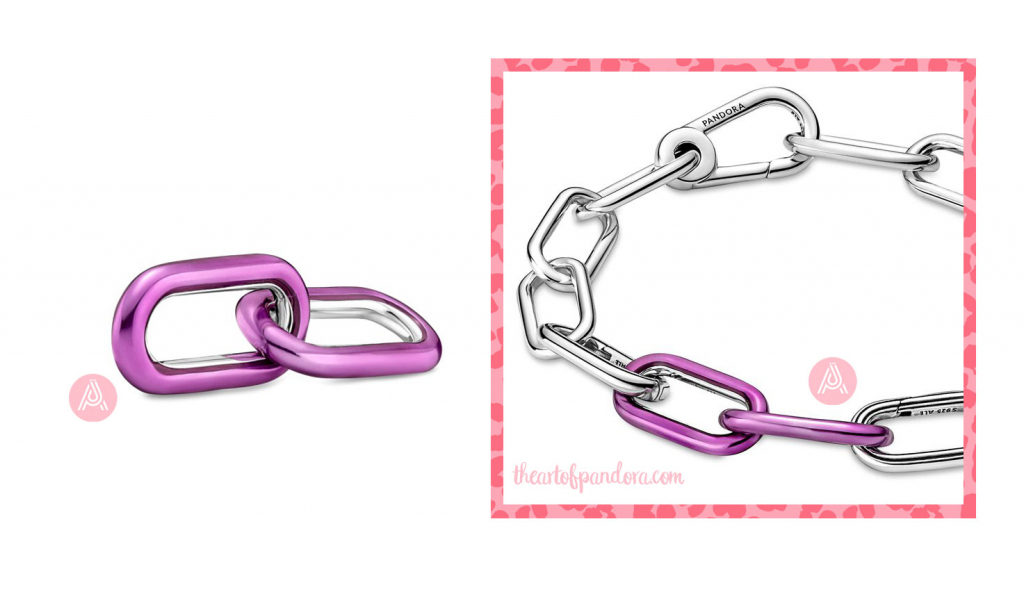 Pandora Me Styling shocking purple Double Link