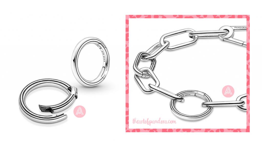 799671C00 Pandora Me styling Round Connector
